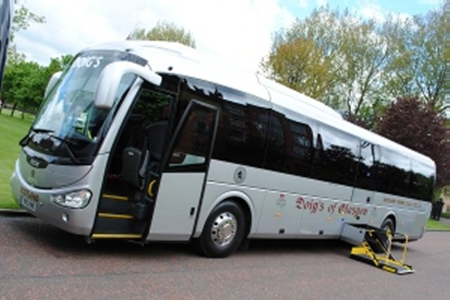 Wheelchair Access Coach