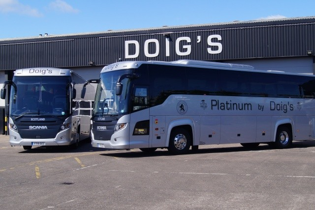 Link for Image to view Doigs of Glasgow Full Size Coaches on the image